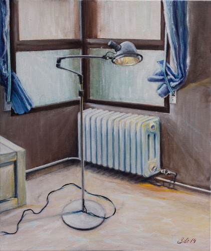 Interior - Óleo sobre lienzo 50x61