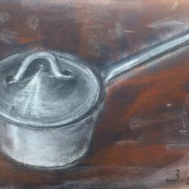 Cazo de cocina - Pastel 32x24 cm.