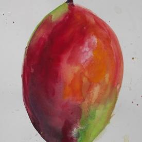Mango - Gouache 32x46 cm.