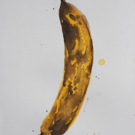Plátano - Gouache 32x46 cm.