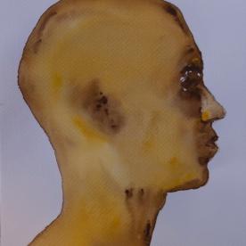 Expresión Ocres - Acuarela 32x46 cm.