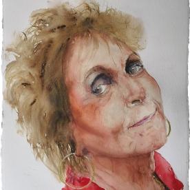Paula Rego - Acuarela 57x77 cm.