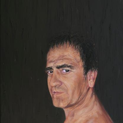 Autorretrato - Óleo sobre lienzo 60x81 cm.