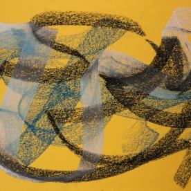 Abstr.4 - Pastel 24x34 cm.