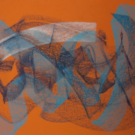 Abstr.5 - Pastel 24x34 cm.