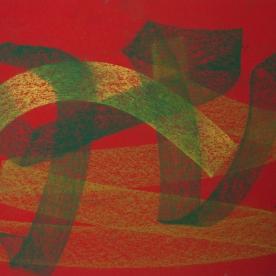 Abstr.6 - Pastel 24x34 cm.